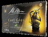 Чай черный в пакетиках Milton Earl Grey Strong с бергамотом (80шт.)