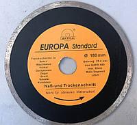Диск алмазный по плитке Evropa 180*1.8*25.4 мм