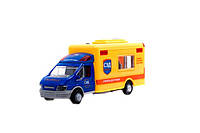 Музыкальный грузовик play smart 0943/44/45 спец транспорт метал.инерцсвет.кор.17*9*7