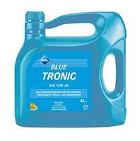 Моторное масло полусинтетика Aral(Арал) BlueTronic SAE 10W-40 4л, фото 1