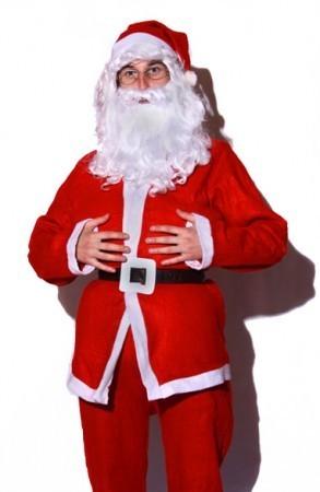 Костюм Деда Мороза дешевый.