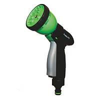 Пістолет розпилювач для поливу Presto-PS насадка на шланг садовий пластик (7 режимів)