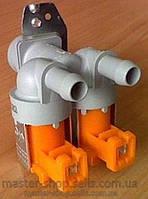 Клапан впускной 2/180 со спаренной фишкой для стиральной машины Electrolux 1468766090, Bosch Siemens 086311