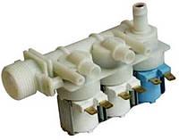 Клапан заливной, впускной 3-ех ходовой для стиральной машины Аристон Ariston, Индезит Indesit  080664, C00080664