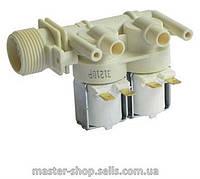 Клапан заливной впускной для стиральной машины 2-ух ходовой C00033518, C00064535 Indesit, Ariston C00066518