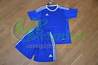Футбольная форма для команд Adidas Адидас синяя