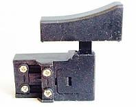 Кнопка включения электрического рубанка Интерскол 4 контакта, 250 В