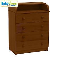 Комод-пеленатор детский Baby Sleep Stella DKK-C Nussbaum Dunkel (т.орех)