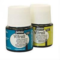 Витражная прозрачная краска Pebeo Vitrail , 45 мл