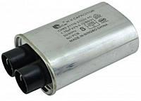 Конденсатор высоковольтный 1 mf 2100v для микроволновой СВЧ печи ЛЖ LG 0CZZW1H004S