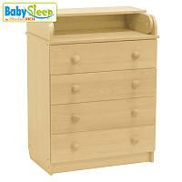 Комод-пеленатор детский Baby Sleep Stella DKK-C Naturholz (натур)