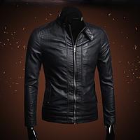 Мужская кожаная куртка. Модель 2003