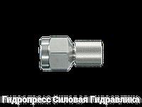 Манометрические прямые штуцера - SMD, Нержавеющая сталь