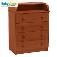 Комод-пеленатор детский Baby Sleep Stella DKK-C  Mahagoni (махагон)