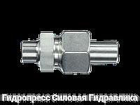 Прямые резьбовые соединения со сварным конусом - стандартное исполнение, Нержавеющая сталь, фото 1