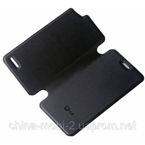 Ьный чехол - книжка для смартфона JIAYU G4  black