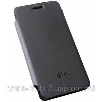 Ьный чехол - книжка для смартфона JIAYU G4  black, фото 2