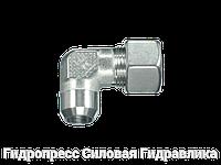 Угловые резьбовые соединения WAS - с накидной гайкой типа SC, Нержавеющая сталь, фото 1