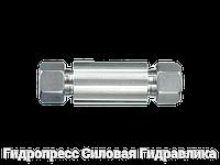 Переборочные резьбовые соединения ESV - с накидной гайкой типа SC, Нержавеющая сталь