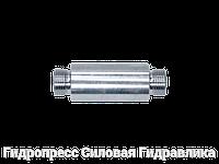 Переборочные резьбовые патрубки ESV - без накидной гайки и врезного кольца, Нержавеющая сталь