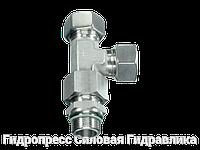 Резьбовые соединения тройниковые EL - Витворт - цилиндрическая резьба - стандартное исполнение, Нержавеющая ст