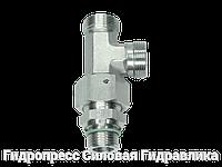 Резьбовые соединения тройниковые EL - без накидной гайки и врезного кольца, Нержавеющая сталь