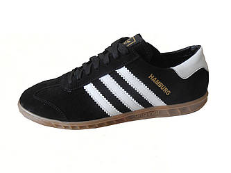 Мужские  кеды-кроссовки Adidas Hamburg