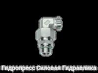 Резьбовые соединения угловые EW - метрическая резьба - без накидной гайки и врезного кольца, Нержавеющая сталь