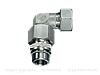 Резьбовые соединения угловые EW с накидной гайкой типа стандарт, Нержавеющая сталь