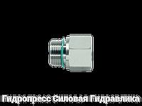 Резьбовые переходники Трубная резьба - цилиндрическая резьба - с мягким уплотнением - Тип B, Нержавеющая сталь