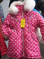Зимнее пальтишко на девочку. размеры 92 , 98, 104 см.