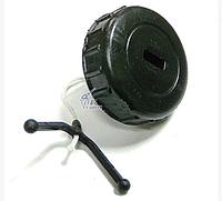 Крышка масло бензобака для бензопилы Stihl 180 (аналог).