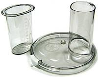 Крышка с толкателем на чашу кухонного комбайна Bosch Бош, Siemens Сименс 657227, 096334