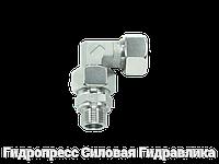 Угловое регулируемое резьбовое соединение - стандарт, Нержавеющая сталь