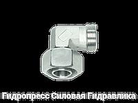 Угловые резьбовые соединения с несъемной гайкой, Нержавеющая сталь