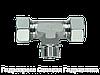 Тройник резьба цилиндрическая - SC, Нержавеющая сталь