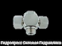 Тройник, трубное соединение с кольцом уплотнения - Standard, Нержавеющая сталь