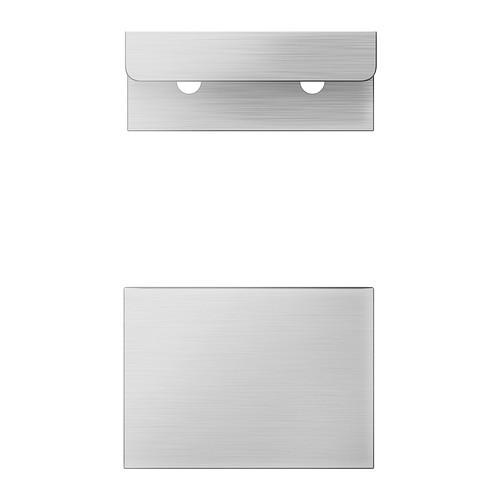 """IKEA """"БЛАНКЕТТ"""" Ручка, алюминий, 2 шт, 50 мм."""