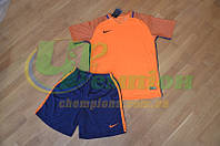 Футбольная форма для команд Nike Найк оранжевая фиолетовая