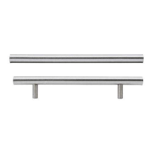 """IKEA """"ЛАНСА"""" Ручка, нержавеющ сталь, 2 шт, 245 мм."""