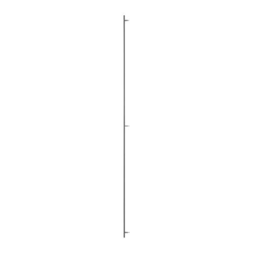 """IKEA """"ЛАНСА"""" Ручка, нержавеющ сталь, 1 шт, 214 cм."""