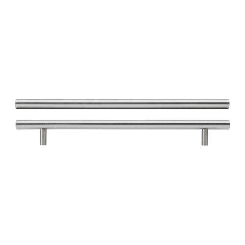 """IKEA """"ЛАНСА"""" Ручка, нержавеющ сталь, 2 шт, 345 мм."""
