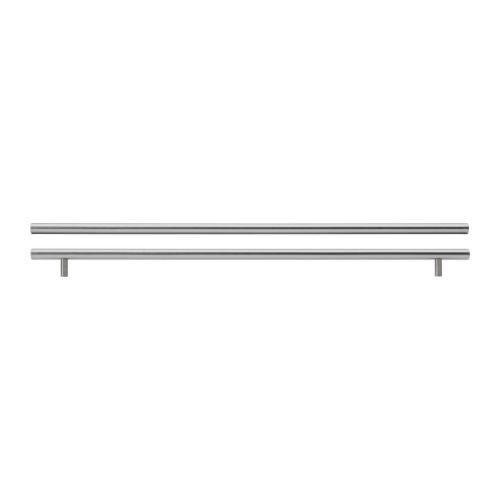 """IKEA """"ЛАНСА"""" Ручка, нержавеющ сталь, 2 шт, 645 мм."""