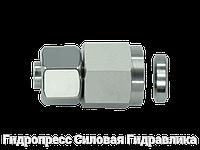 Муфты резьбовые соединительные с металлическим уплотнительным кольцом - SC, Нержавеющая сталь