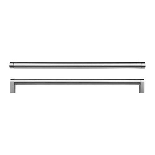 """IKEA """"ОРРНЭС"""" Ручка мебельная, цвет нержавеющей стали, 2 шт, 330 мм."""