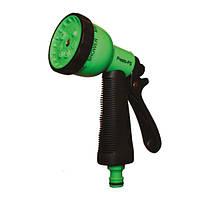 Пістолет розпилювач для поливу Presto-PS насадка на шланг пластик (7 режимів)