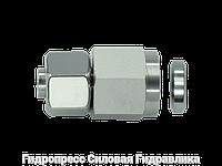 Муфты резьбовые соединительные с металлическим уплотнительным кольцом - стандарт, Нержавеющая сталь, фото 1