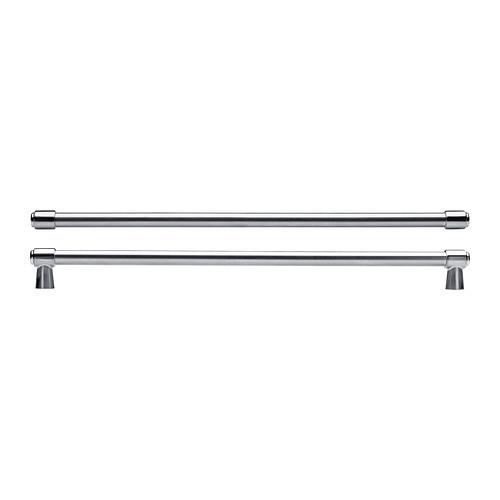 """IKEA """"ВАРНХЕМ"""" Ручка, цвет нержавеющей стали, 2 шт, 410 мм."""