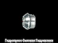 Прокладочные кольца с кольцом круглого сечения, с отбортовкой, Нержавеющая сталь
