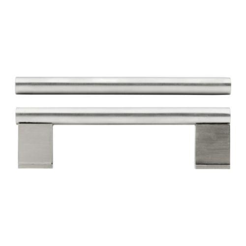 """IKEA """"ВИННА"""" Ручка, нержавеющ сталь, 2 шт, 357 мм."""